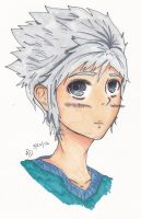 |Copic Colored| NinjaGo: Zane by ArtisticDisgrace