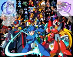 MegaMan Wallpaper by SUSTIC