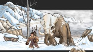 Elephant Knight - coloured by rogue-rpz