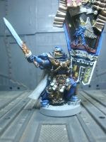 Ultramarine Honor Guard Close-up by raipo