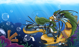 Water dragon by Innuo