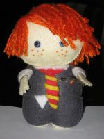 Ron Weasley by deridolls