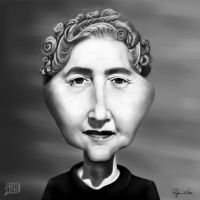 Agatha Christie by RyanNore