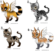 free kitten adopts .closed. by Odscene