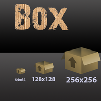 Box icon by Robgimp