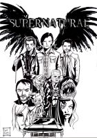 The Best Show On TV Supernatural by samrogers
