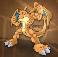 Charizard Anthro Form by OutLeaf