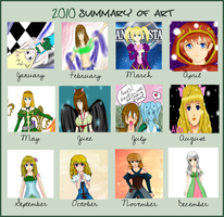 2010 Summary of Art by Annzip