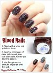 Blood Nails Tutorial by MissMMayhem