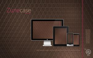 Zune case walls by srjames