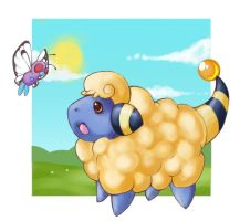 +Mareep+ by Sprinkling-stars