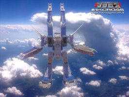 Macross live action 3d - 4 by jideto