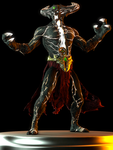 Corrupted Shinnok by Yare-Yare-Dong