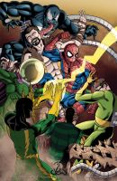 ...Spidey Vs. The Sinister Six 2012... by thelearningcurv
