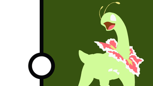 Meganium Minimalist Wallpaper by Narflarg