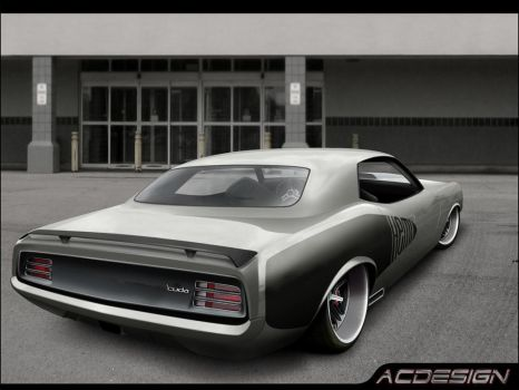 Plymouth Cuda Hemi by AC-design
