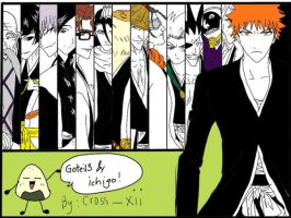 my drawing of GOTEI13 by enigma-cross12