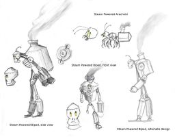 Steambots by Levviathor