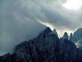 Stormy weather on Mulaz by edelweiss26