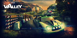 TrackMania 2 Valley Header for Twitter by raikouto