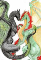 DC Request: Alt Nebula Male and Ribbon Dancer by Draconian-Princess