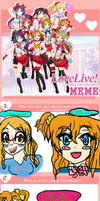 I did the Love Live Meme By Tsuki80! by Loyal-Canine