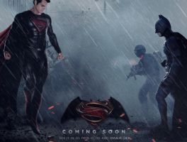 Superman vs Batman (2015) movie promo by DComp