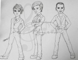 Doctor Who by Thyria
