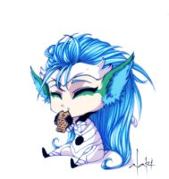 kitten Grimmjow by Alarimaa
