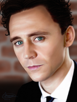 Tom Hiddleston by MarinaSchiffer