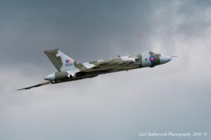 Avro Vulcan XH558 by Rovanite