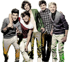 1D PNG by mybrightdays