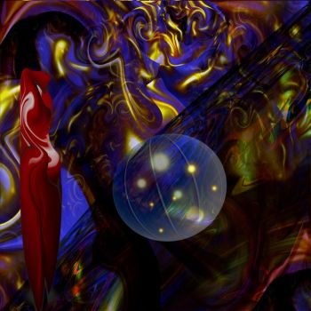 strange abstract adventure 001 by Dan-Tocher