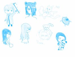 Sketch dump  by tigerbabes1029