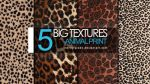 5 Textures: animal print by mercurycode