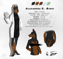 Alexandra D. Boroi (Reference Sheet) by J-Harper