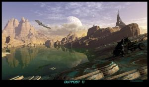 Outpost 11 by MandelCr8tor