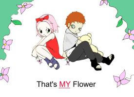 That's My Flower cover by FallenHeartAche