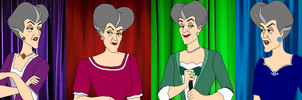 Color Spectrum Lady Tremaine by SelenaEde