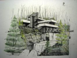 Fallingwater House 2 by Fremenul