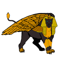 Sphinx for Paige... by AngelGhidorah