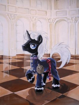 Commission: Mess Dress with Order of Equestria by Graffegruam