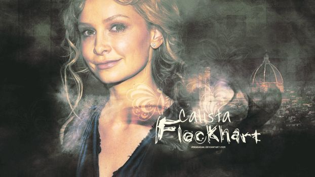 Calista Flockhart by miraradak