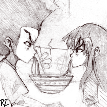 This isn't a date - Sketch by Redztheartist