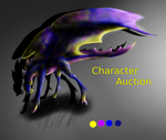 Character Auction (Dragon) by GoldenGriffiness