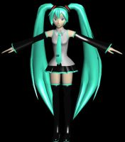 Miku Hatsune RJMv3.0 Final Wip by RJMMD