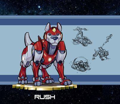 MMRedesign: Rush by AdamWithers