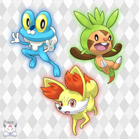 Pokemon Starter - Gen VI by Neliorra