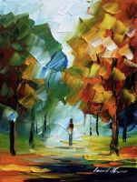 SMILE OF MY HEART  - AFREMOV by Leonidafremov