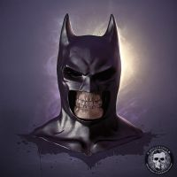 Batman - Skullified by fantasio